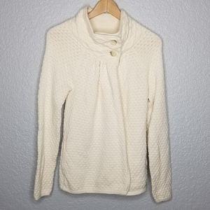 Ann Taylor LOFT Wool Cashmere Sweater Cardigan